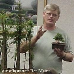 Ron Martin - Photo Courtesy Tokonoma Bonsai